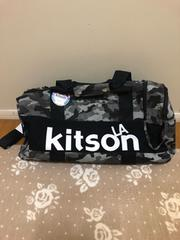 Kitson*キットソン BIG ボストン・バッグ ドラム型 迷彩柄
