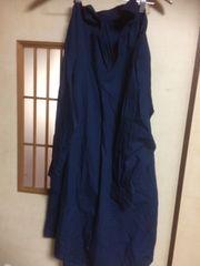 ゆるかわスキッパーシャツ長袖ワンピースM*クリックポスト185円