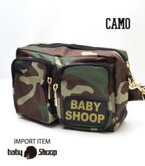 baby Shoop カモフラ2wayウエストbag 未使用