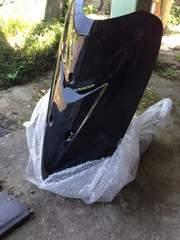 新品 リモコンジョグZR フロントカバー 黒 SA16