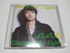 Charge&Go!/Lights(mu-moショップ限定盤Aver.)/AAA 帯付き 西島隆弘