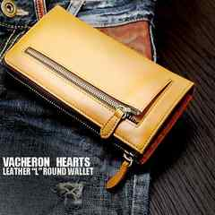 VACHERON HEARTS L字ラウンドファスナー長財布VH-0120CA