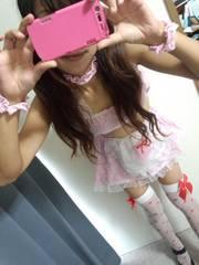 ☆‥コスプレ・ピンクのメイド服‥☆