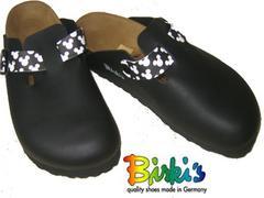 ビルキー新品 ビルケンシュトック ウッドビー ディズニー黒38