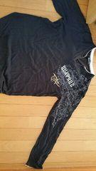 黒の長袖シャツ【Sサイズ】