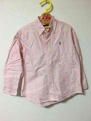 ラルフローレン ピンクシャツ size120
