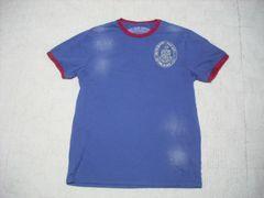 42 男 ラルフローレン 青 半袖Tシャツ M