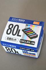 新品 エプソン インクカートリッジ IC6CL80L 6色 PP-EIC80L-6P