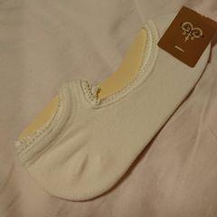 チュチュアンナ オフ白色靴下 新品未使用