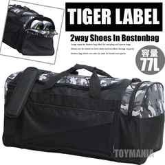 新品 大容量 シューズインボストンバッグ メンズ 旅行バッグ 防災バッグ 迷彩