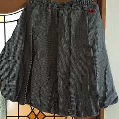 ロデオクラウンズ。デニムヒッコリーバルーンスカート美品