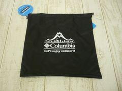 即決☆コロンビア 収納袋 巾着 BLK 新品 バック