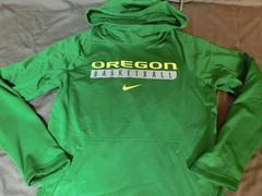 Nike製 【THERMA-FIT】オレゴン大学ダックス パーカーUS S
