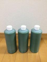 ピカピカ磨き剤 トラックアルミホイール鏡面 青棒汁 500ml 3本