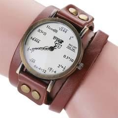 数式デザイン腕時計 二重巻き アンティーク