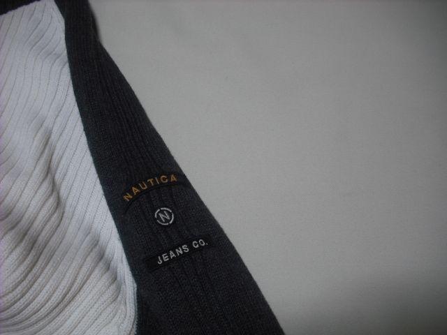 42 男 NAUTICA ノーティカ セーター M < ブランドの