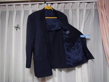 KENZOのブレザー(L)ネイビー 毛100% 日本製 !