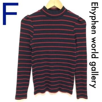 ストレッチボーダーTシャツ Ehyphen world gallery