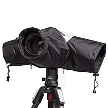 カメラレインカバー SanrenGo カメラ レインジャケット 軽量薄柔