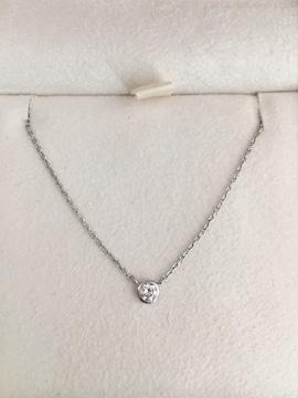ヴァンドーム青山 ダイヤモンド ネックレス Pt900 0.09ct