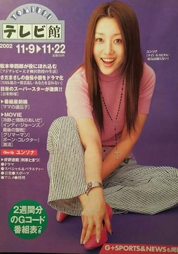 ユンソナ【YOMIURIテレビ館】2002年270号