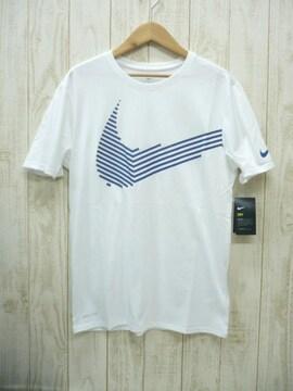 即決☆ナイキ特価スウォッシュTシャツ WHT/XXL 3L 新品 半袖 ドライフィット