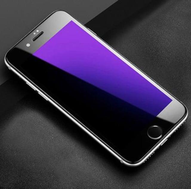 iphone8 ブルーライト カット ガラス フルカバー 0.3mm 3D