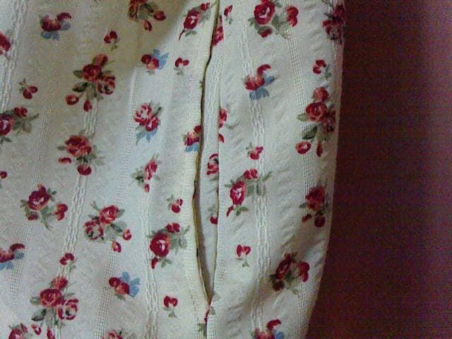 新品未使用 大きいサイズ チュニック 3L 半袖 花柄 レトロ風☆送料無料 < 女性ファッションの