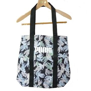 新品★送料無料★プーマ PUMA 軽量花柄トートバッグ