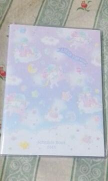 新品キキララ2019年 スケジュール手帳サンリオマンスリー