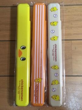 新品★チキンラーメン/ひよこちゃんお箸�B点セット¥250スタ