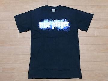 即決!USA古着●鮮やかロゴデザインTシャツ黒!ビンテージ