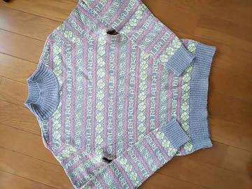 美品 アルバローザ ハイネックセーター
