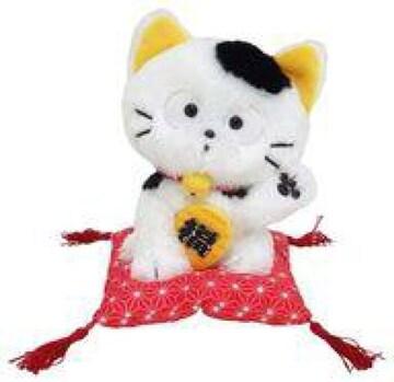 うちのタマ知りませんか タマの招き猫ぬいぐるみ新品 15センチ