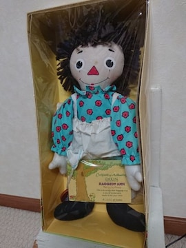 RAGGEDY ANN&the Lucky penny DAKIN ラガディアン ドール人形 箱付き