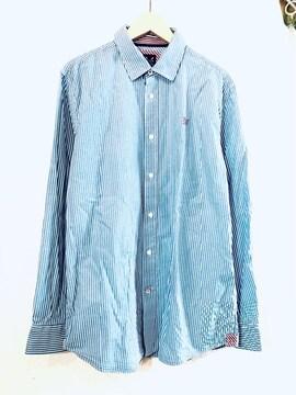 CREW CLOTHING■ドレスシャツ■ストライプ■クルークロッシング