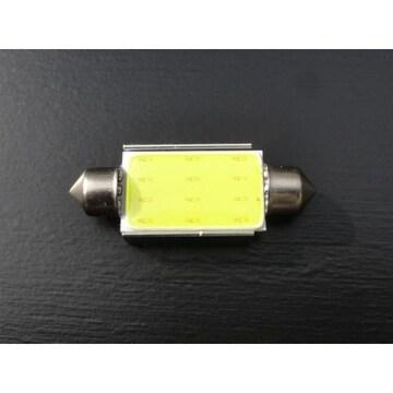 激光!面発光LEDバルブ ホワイト T10x42mm ナンバー灯 ラゲッジ ルームランプ