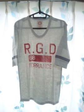 五分袖 Tシャツ Uネック カレッジプリント アメカジサーフ新品