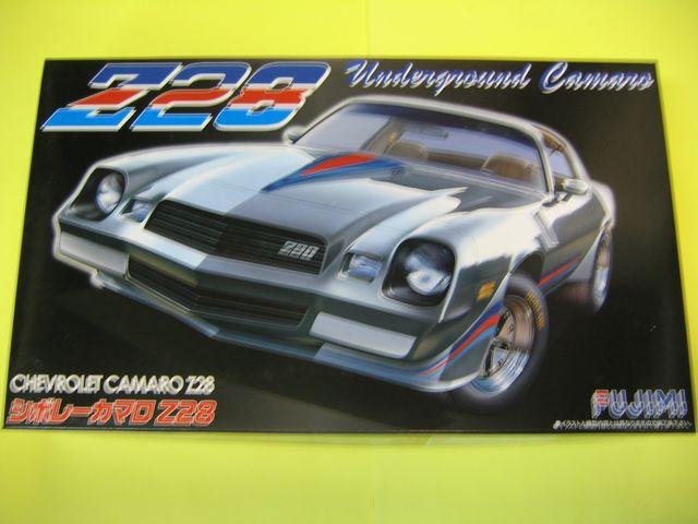 Toys & Games Cars 1/24 Camaro Z28 Fujimi Model RS-73