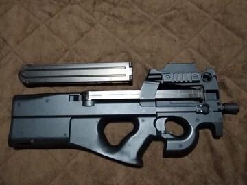 東京マルイ P90カスタム グリップ加工