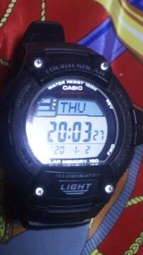 CASIOTOUGH SOLARタフソーラー電源腕時計デジタル液晶
