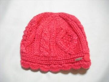 wb239 女 BILLABONG ビラボン ニット帽 チェリー
