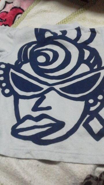 難アリデカミニ&ママTシャツ80 < ブランドの