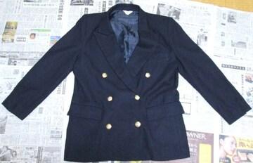 ◆紺色 ジャケット 9号◆ 中古品