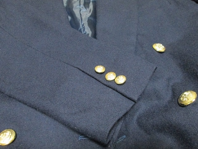 ◆紺色 ジャケット 9号◆ 中古品 < 女性ファッションの