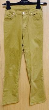 19】シマロン カーキ色 パンツ26サイズ