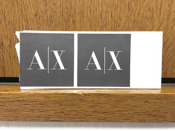 新品未使用アルマーニエクスチェンジARMANI A/X シール