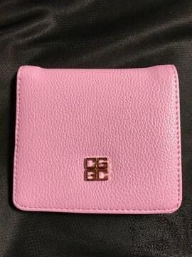 財布 ウォレット 二つ折り パープル コンパクト シンプル キャッシュレス card