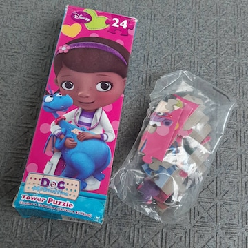 新品 日本未発売 ドックはおもちゃドクター パズル