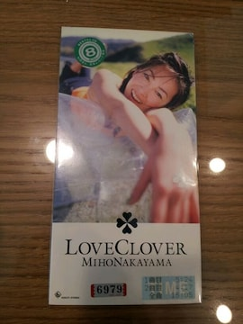 中山美穂*LOVECLOVER◇CDシングル◇emptypocket☆